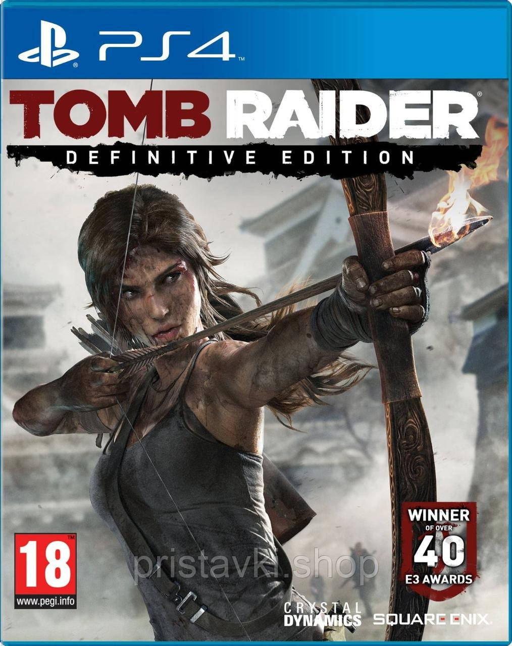 Tomb Raider Definitive Edition PS4 \ PS5