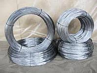 Проволока стальная оцинкованная термически обработанная Ф 0,8