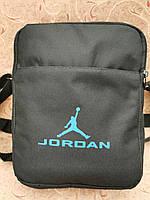 25.5*20.5)Спортивные барсетка jordan оксфорд ткань 600d(только ОПТ)Сумка спортивная/Сумка для через плечо, фото 1