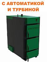 Промышленный котел длительного горения Макситерм Пром 50 кВт утеплённый
