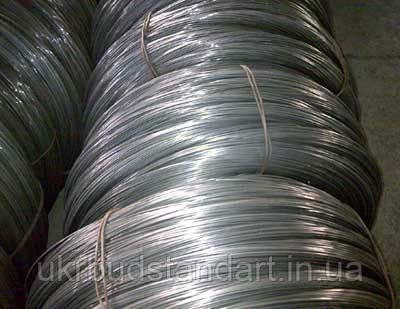 Проволока стальная оцинкованная термически обработанная Ф 2,5 (10 кг, 250 метров)
