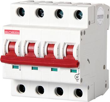 Модульный автоматический выключатель e.industrial.mcb.100.3N.C25, 3р+N, 25А, С, 10кА ENEXT [i0190014]