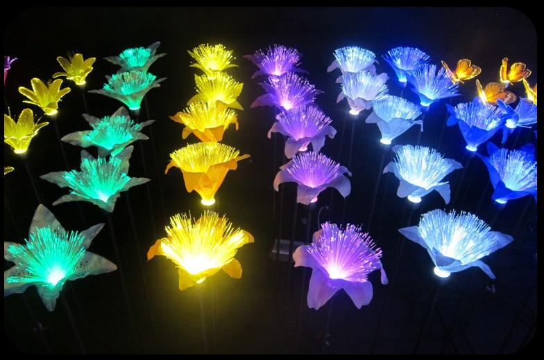 Светодиодные цветы для ландшафтов