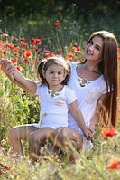Детское платье Версачи белое