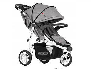 Прогулочная детская коляска SIROCCO колеса 25cm