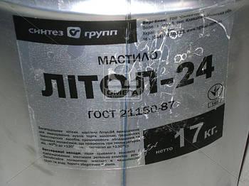 Смазка Литол-24 гост Экстра КСМ-ПРОТЕК (ведро 17кг) (арт. 410661)