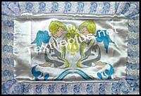 Крыжма атлас с печатью Textile plus (kod 4350)