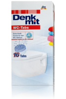 Таблетки для бачка унитаза c формулой крафта Denkmit WC 400g