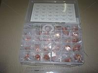 Набор медных шайб №1 Ф5*9-Ф28*36  (570 шт) (RIDER) (арт. RD11570ZK)