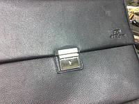 Замена замка на мужском кожаном портфеле Dupont