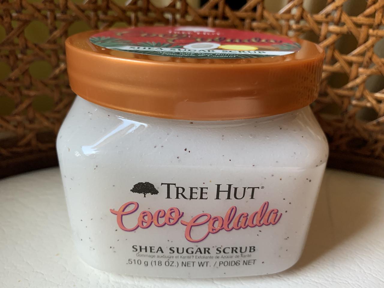 Сахарный скраб для тела Tree Hut Coco Colada
