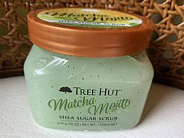 Сахарный скраб для тела Tree Hut Matcha Mojito