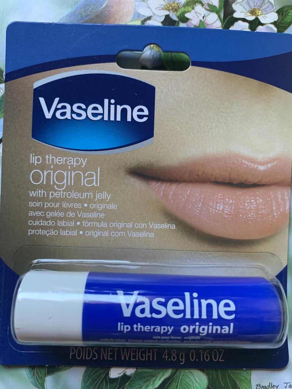Бальзам для губ вазелин Vaseline lip therapy