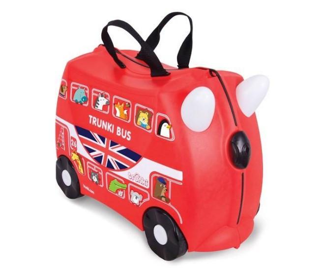 Детский чемодан Boris the Bus Trunki оригинал