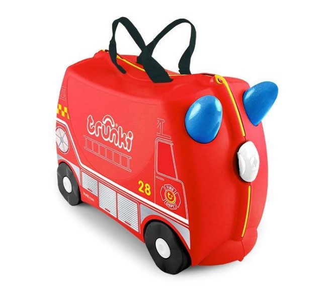 Детский чемодан Frank the Fire Truck Trunki оригинал