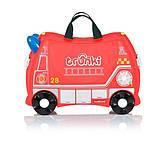 Детский чемодан Frank the Fire Truck Trunki оригинал, фото 2