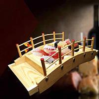 """Мостик для подачи суши """"Гуйян 5"""" ваниль"""