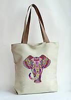 Сумка под вышивку бисером (нитками)  Слон