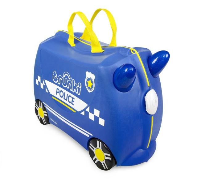Детский чемодан Percy the Police Car Trunki оригинал