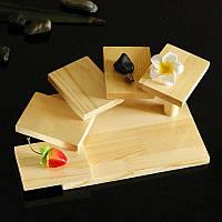 """Блюдо для подачи суши """"Фучжоу 5"""" ваниль"""