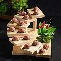 """Блюдо для подачи суши """"Фучжоу 7"""" ваниль"""