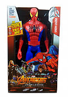 Супергерой DY-H58 ( DY-H5831 (Spider-Man) AV,29см,подв.руки и ноги,звук,свет,бат(табл),в кор, 18-30-6см)