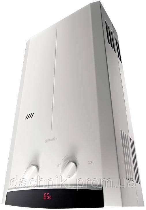 Газовый водонагреватель Gorenje GWH10NNBW (Дымоход)