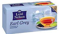 Чай черный в пакетиках Lord Nelson Earl Grey (25 шт.)