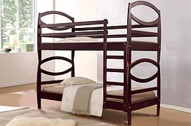 Кровать деревянная двухъярусная Виктория