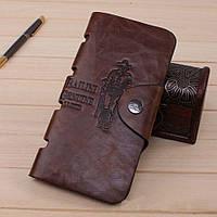 Мужской кошелек. Бумажник кожаный мужской. Кошелёк Баилини. Кожаные портмоне. Хит продаж !