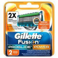 Сменные кассеты Gillette Fusion ProGlide Power 2 шт (7702018085927)