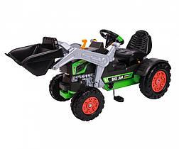 Трактор педальный с ковшом и звуковыми эффектами Джим Турбо Jim Turbo BIG 0056513