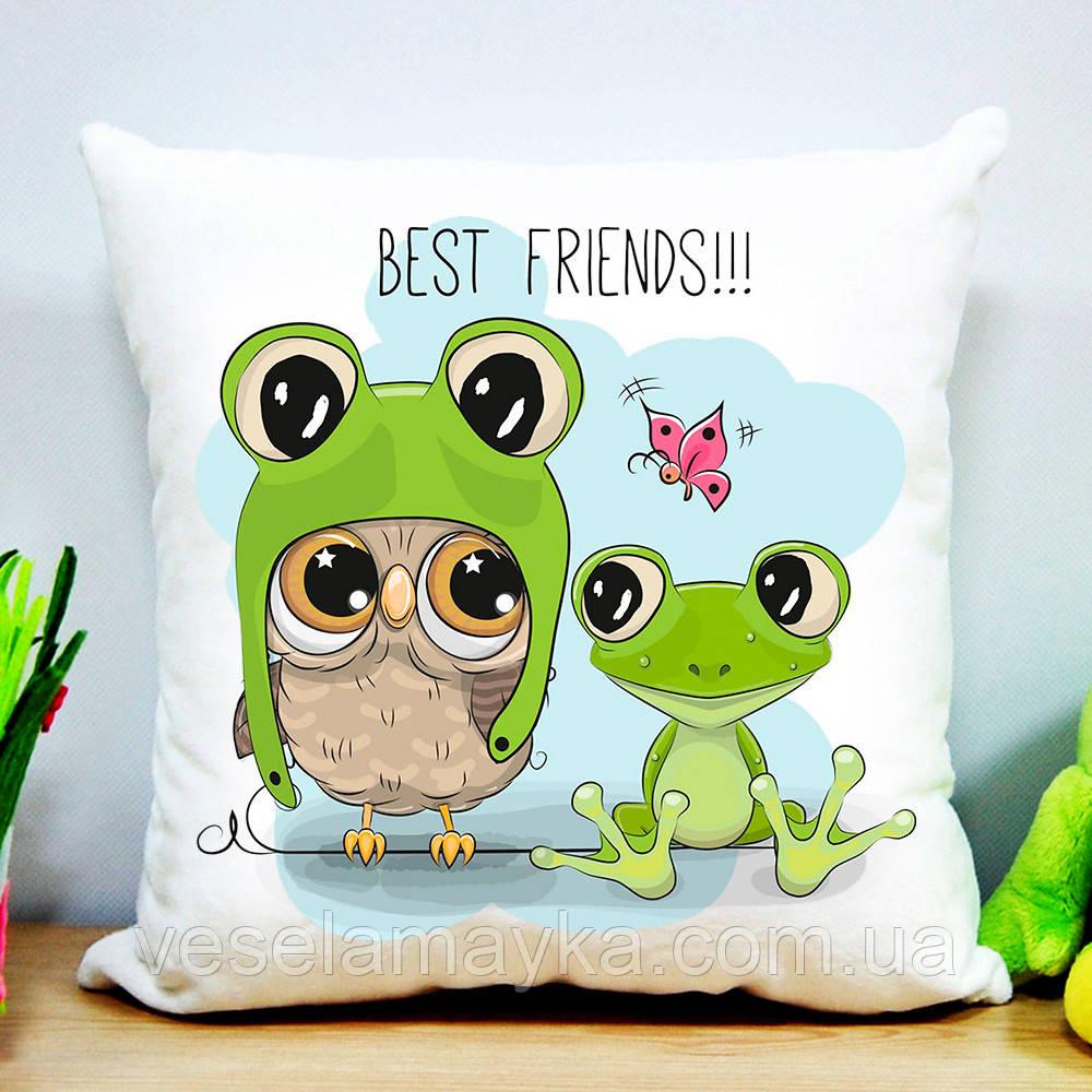 Подушка Best friends