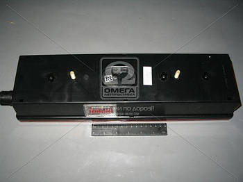 Фонарь КАМАЗ, МАЗ задний левый с боковым габаритным фонарем (пр-во Руденск) (арт. 7472.3716-08)