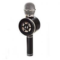 Микрофон X15318 аккум, 24 см, SD слот, Usb зарядное, смена голоса, 3 цвета - 154650