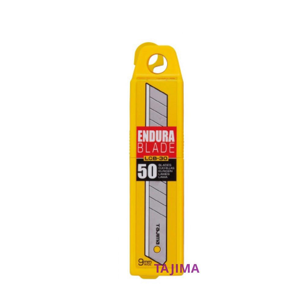 Лезвия сегментные 9мм TAJIMA Endura-Blade LB30-50H, 50 шт (LCB-30)