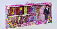 Кукла Барби 8899 Семья с набором одежды, 2 вида - 153910