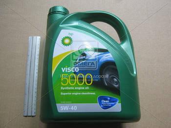 Масло моторное BP Visco 5000  5W-40 API SN/CF (Канистра 4л) (арт. 15806C)