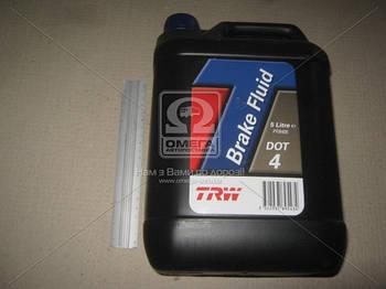 Жидкость тормозная DOT4  5,0L (пр-во TRW) (арт. PFB405)