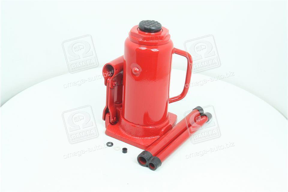 Домкрат бутылочный, 12т, красный H=210/400  (арт. JNS-12)