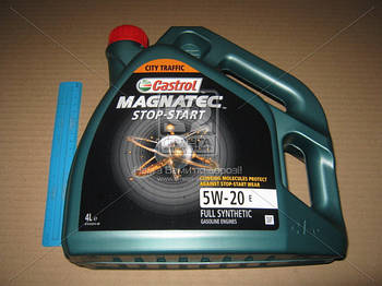 Масло моторное Castrol Magnatec STOP-START 5W-20 E EcoBooSeat (Канистра 4л) (арт. 15A7C6)
