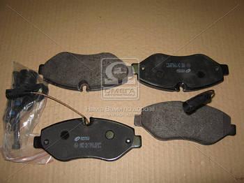 Колодка тормозная NISSAN CABSTAR 2.5-3.0 2006- передн. (пр-во REMSA) (арт. 1245.02)