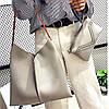 Набор сумок Mei&Ge Messenger Bag 2в1 сумка + клатч серый