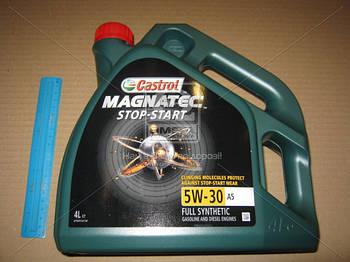 Масло моторное Castrol  Magnatec Stop-Start 5W-30 A5 (Канистра 4л) (арт. 15A16E)