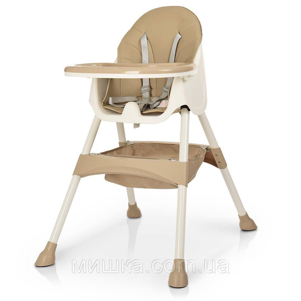 Детский стульчик для кормления M 4136 BEIGE