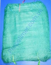 Сетка овощная 40 х 60 см с завязкой, сетка мешок зеленая, для упаковки молодой кукурузы, сетка овощная 20 кг