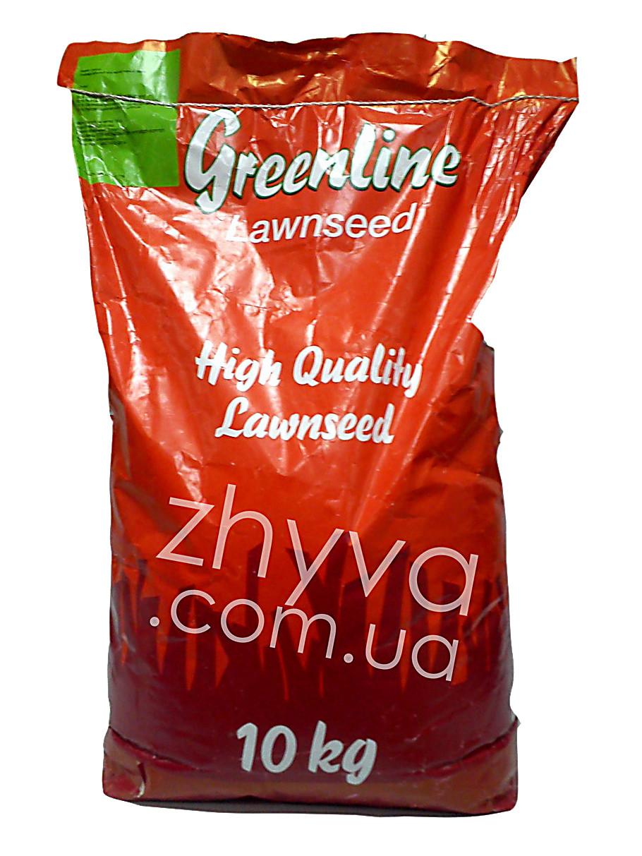 Газонная трава теневая Greenline (Германия)10кг / Газонна трава тыневитривала 10 кг