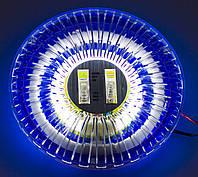 Универсальный плафон в автомобиль, неоновая подсветка салона на потолок 3 положения
