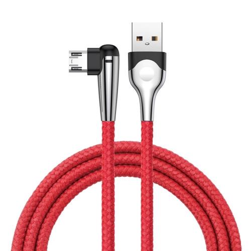 Ігровий Кабель Baseus MVP USB - Type-C 2 A / 2 м Червоний (CATMVP-E09)