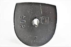 Каблук женский пластиковый 804 р.2-3  h-7,7-8,0 см., фото 2